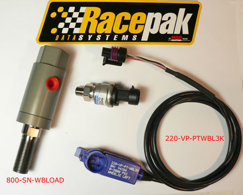 Racepak 810-PT-0100SD SINGLE WIRE OIL PRESSURE SENSOR
